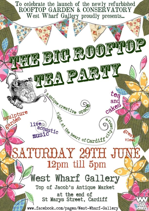 The Big Rootftop Tea Party!