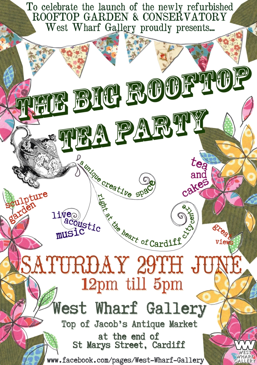 The Big Rootftop Tea Party!