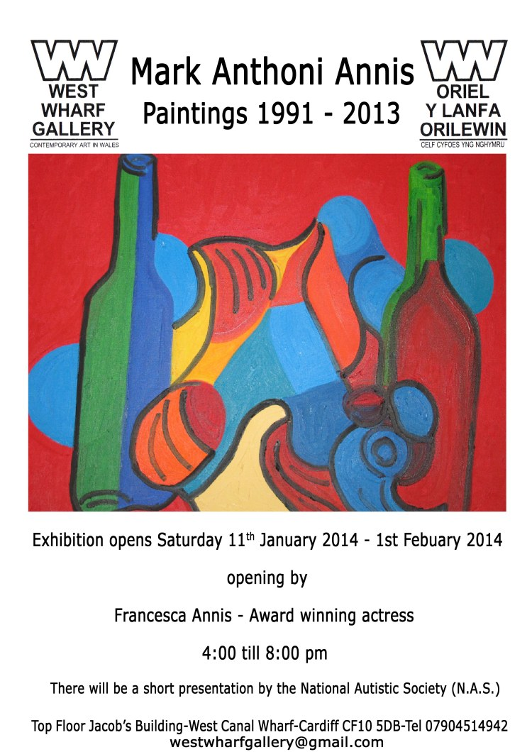 Mark Annis Exhibition this Saturday at 4pm